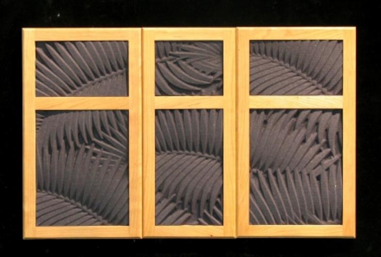 Abstract panel in Cabinet Door