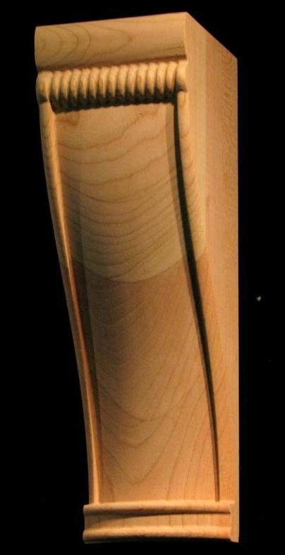 Simple Wood Corbels : Corbel simple carved wood