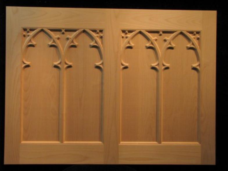 Gothic Chapel Doors