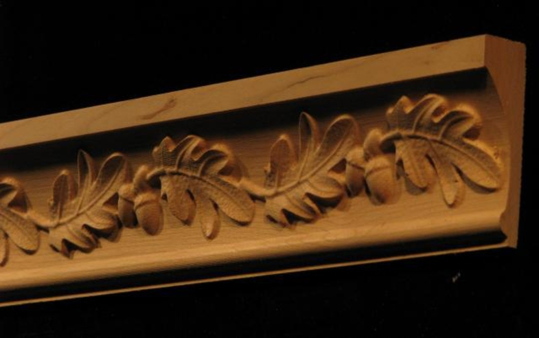 Moulding - Acorns and Oak Leaves