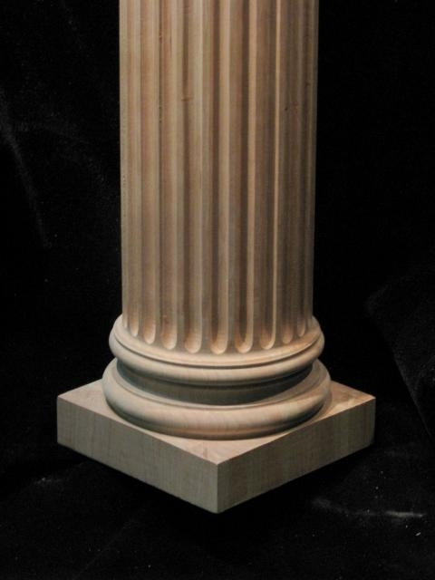 Column full round corinthian columns full round for Round columns