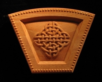 Keystone - Celtic Knot Arched