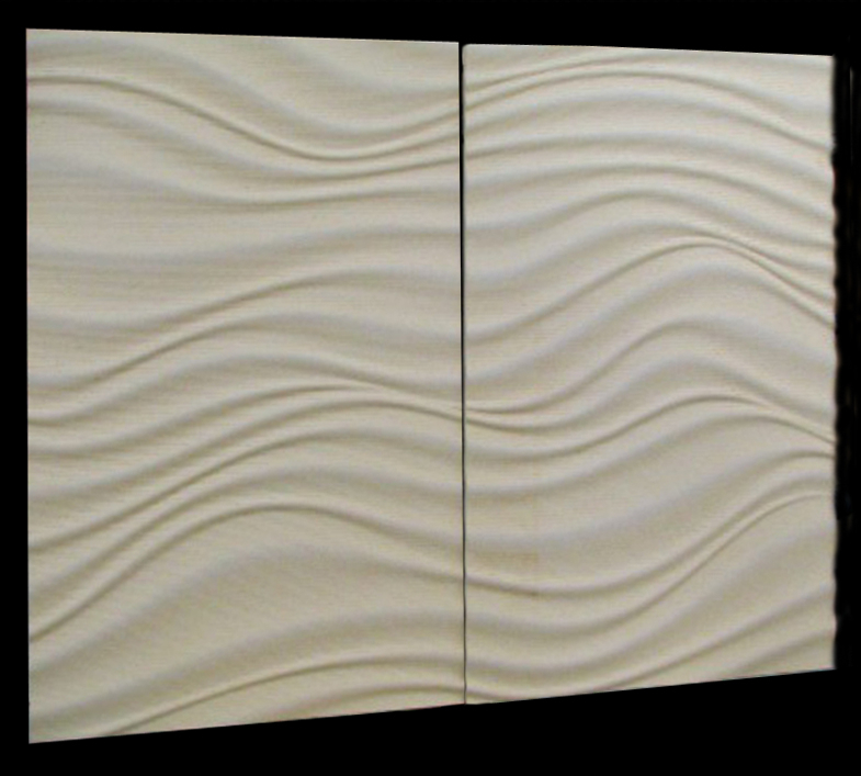 Carved Cecorative Panel - Water Flow