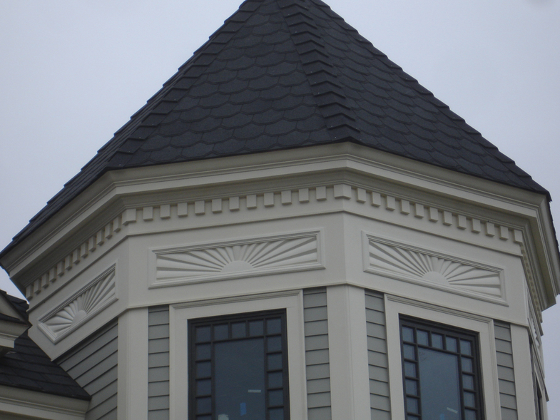 Turret Panels-Cali Residence