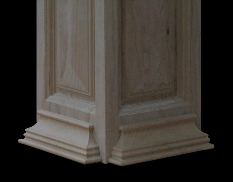 Georgian 4-Sided Column