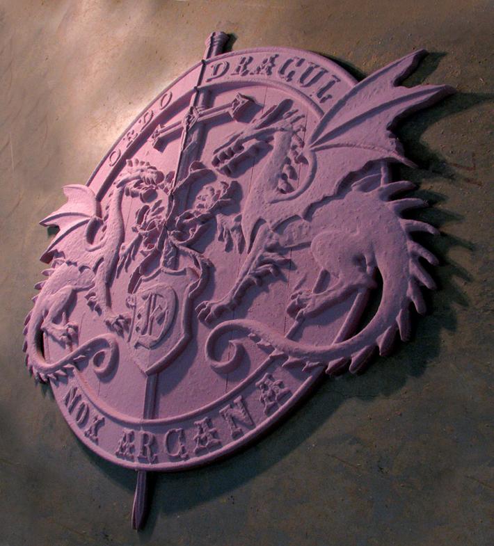 Theatrical Dragon Panels