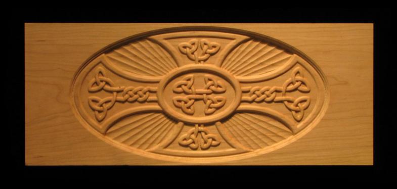 Celtic Iron Cross Insert