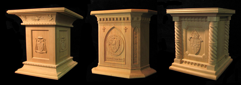 Pedestal - Archbishop of Detroit