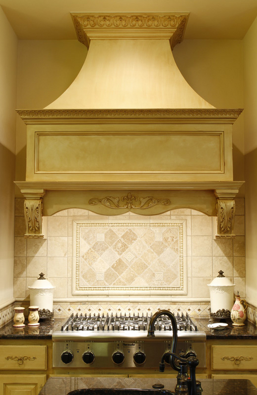French Country Range Hood Rendering Bars Islands