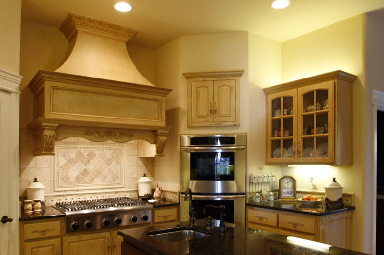 French Country Range Hood