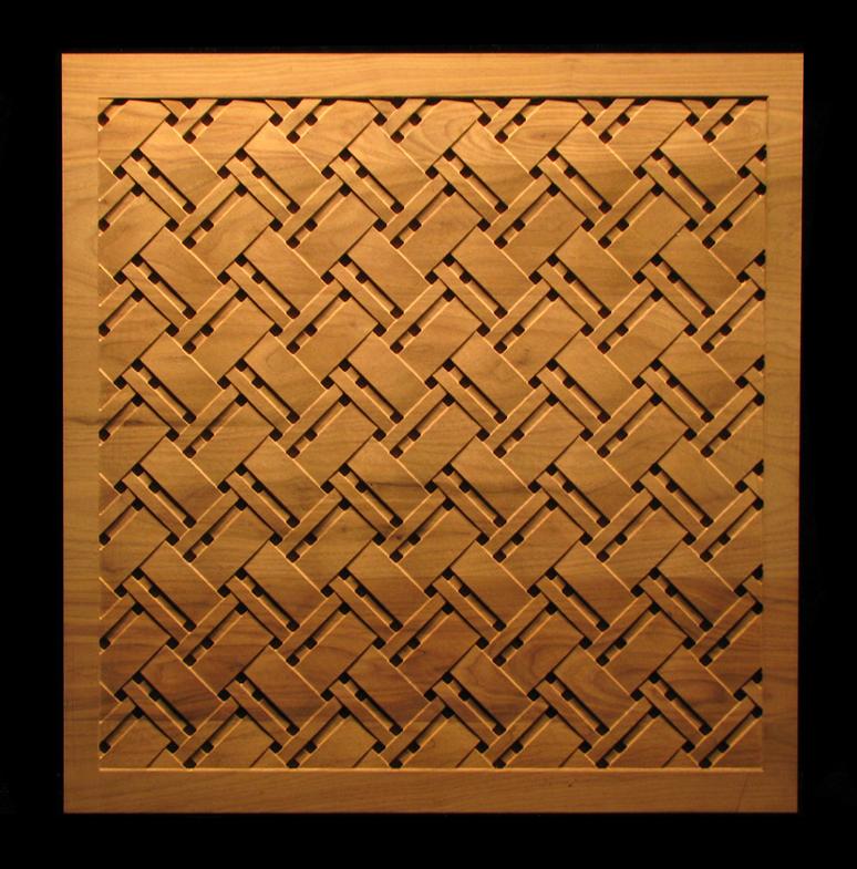 Tartan Weave Panel