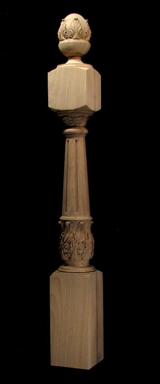 Newel Post Acanthus Columns And Newel Posts
