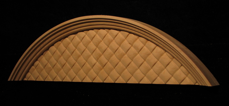 Arched Woven Panel