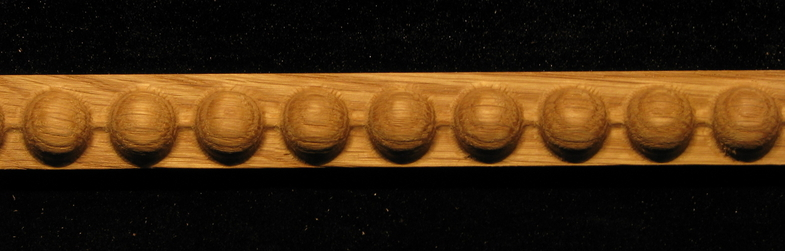 Detail Moulding Carved Pearl Beads Wooden Pearl Beads