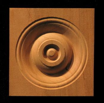 Blocks Plinths Amp Rosettes Bullseyes