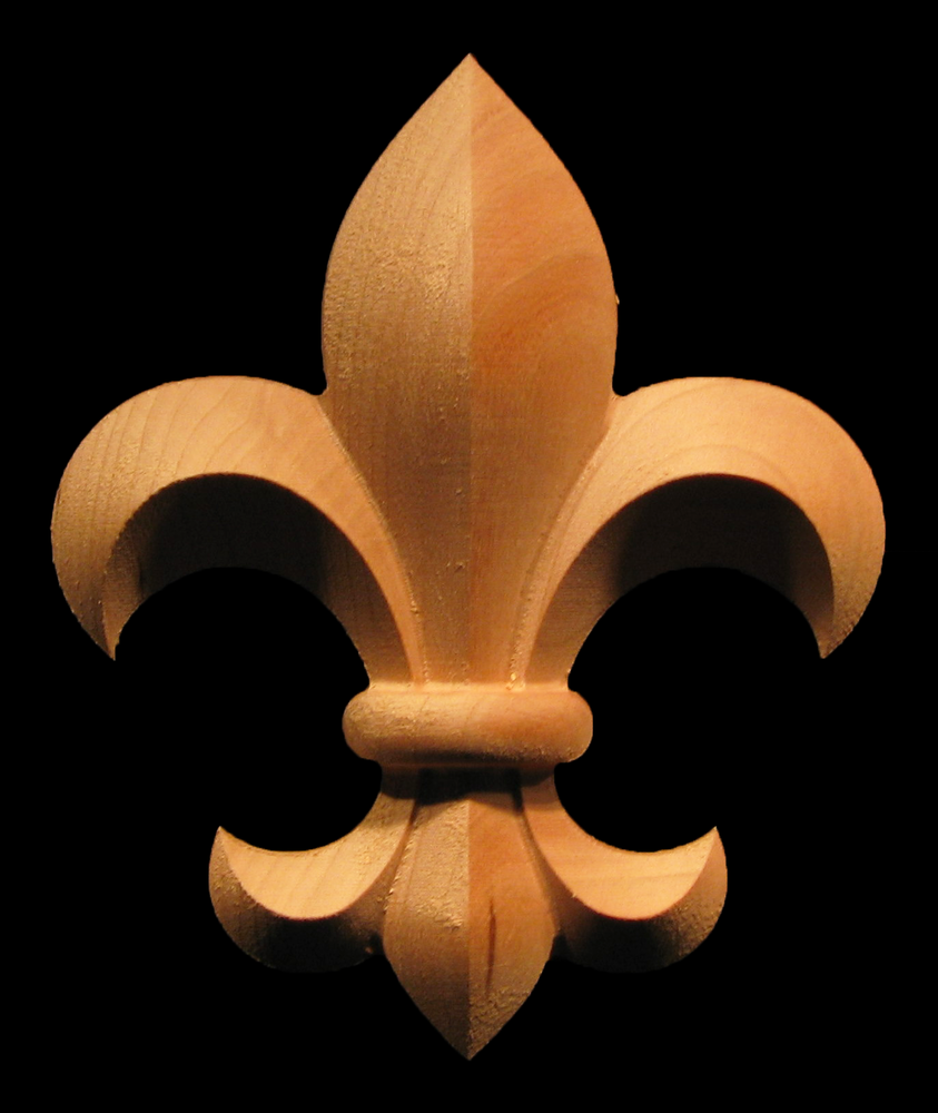 Fleur de Lis Wood Trim and Moulding | Fleur de Lis Collection