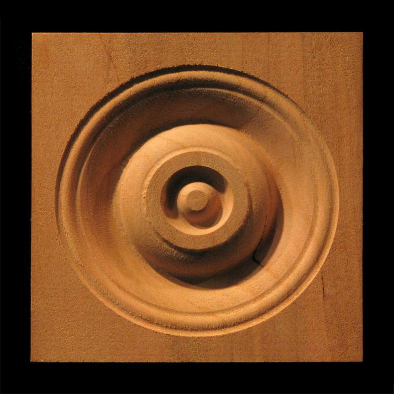 Corner Block - Classic Bullseye style #4 size 3