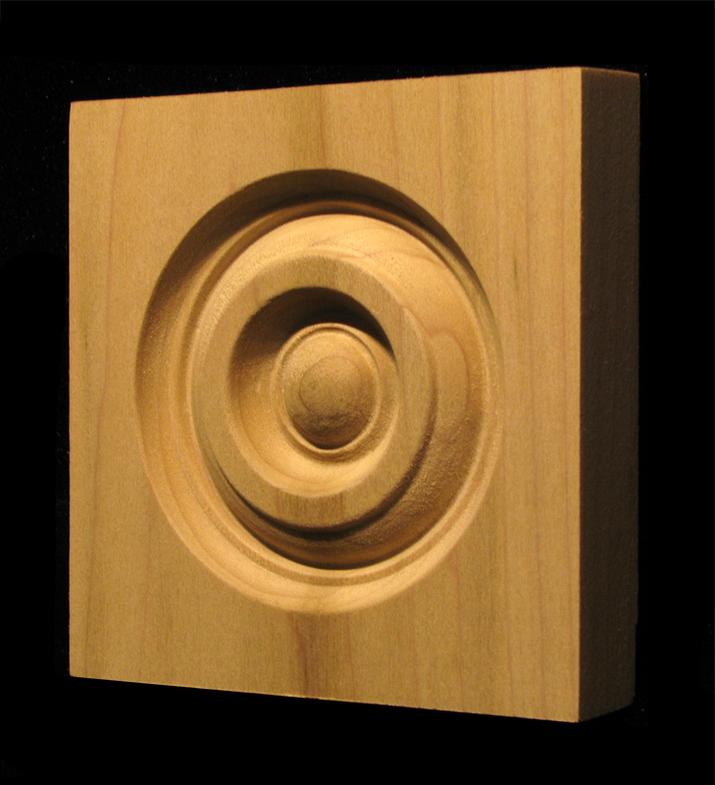 Corner Block - Classic Bullseye style #5 size 3