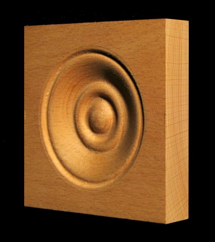 Corner Block - Classic Bullseye style #6 size 3