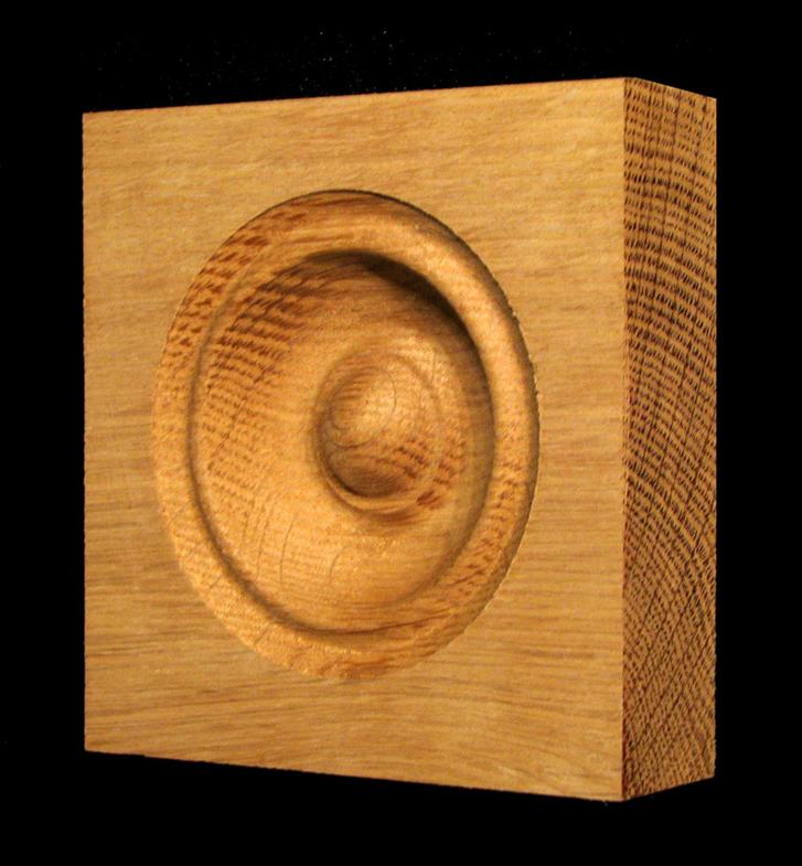 Corner Block - Classic Bullseye style #7 size 3