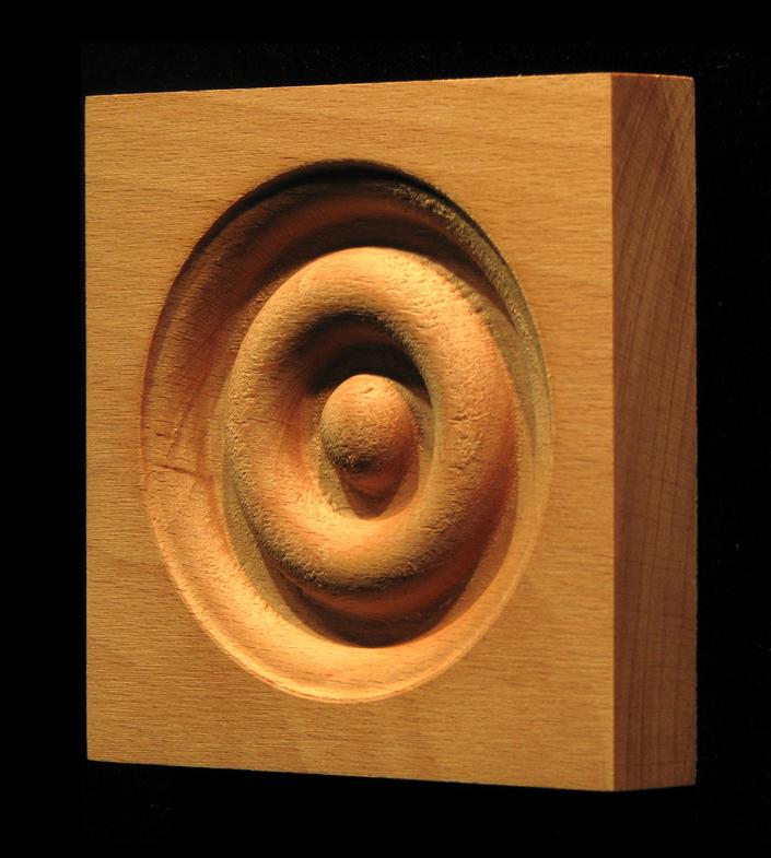 Corner Block - Classic Bullseye style #8 size 3