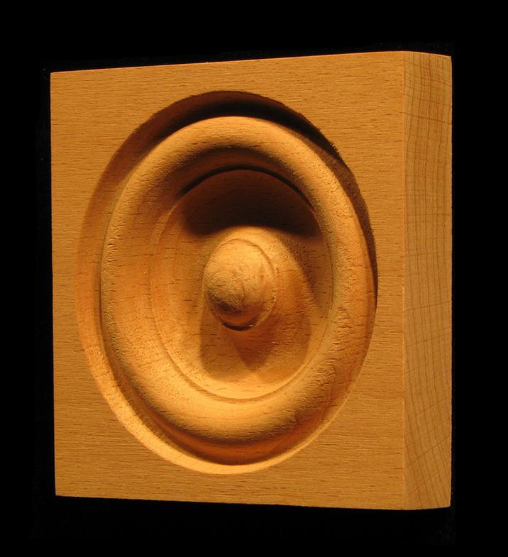 Corner Block - Classic Bullseye style #9 size 3