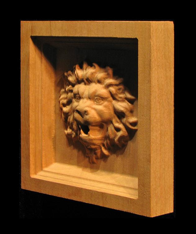 Corner Block - Roaring Lion