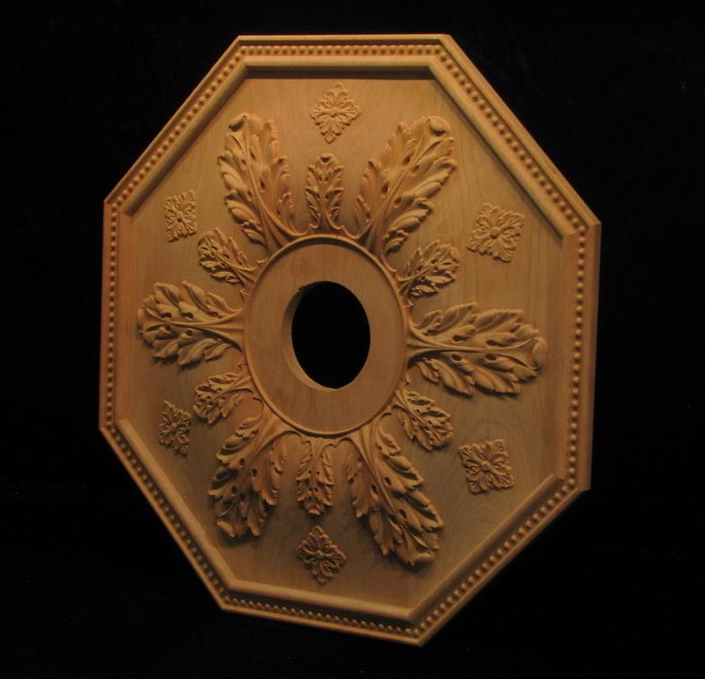 Ceiling Medallion Acanthus Windows Doors Ceiling