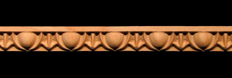 Detail Molding - Egg and Dart  - Cabinet Door