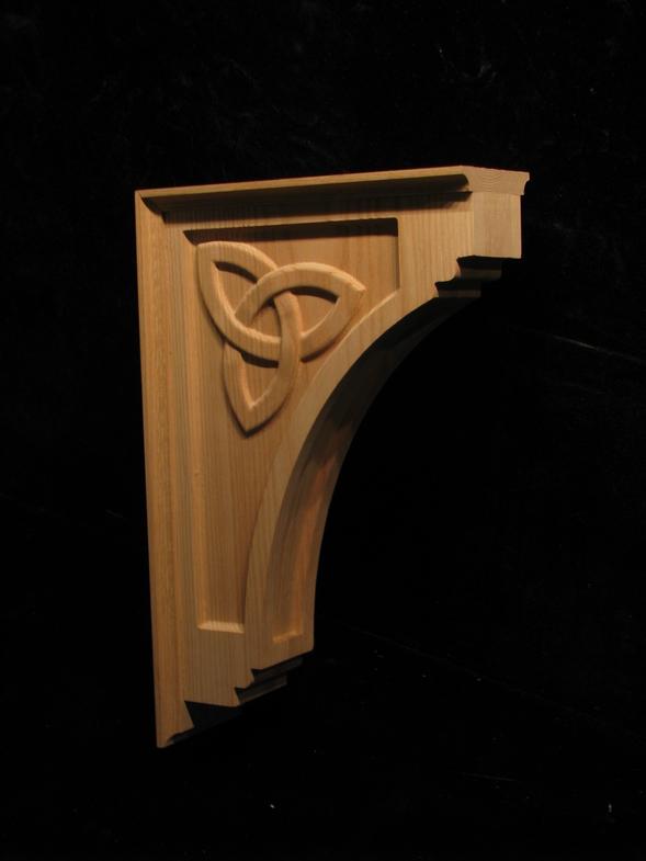 Celtic corbel corbels brackets and plinths