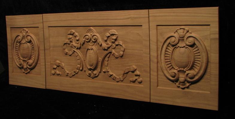 Fireplace Mantel panels