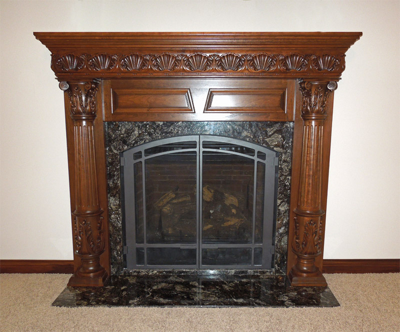 St Amour Fireplace Surround