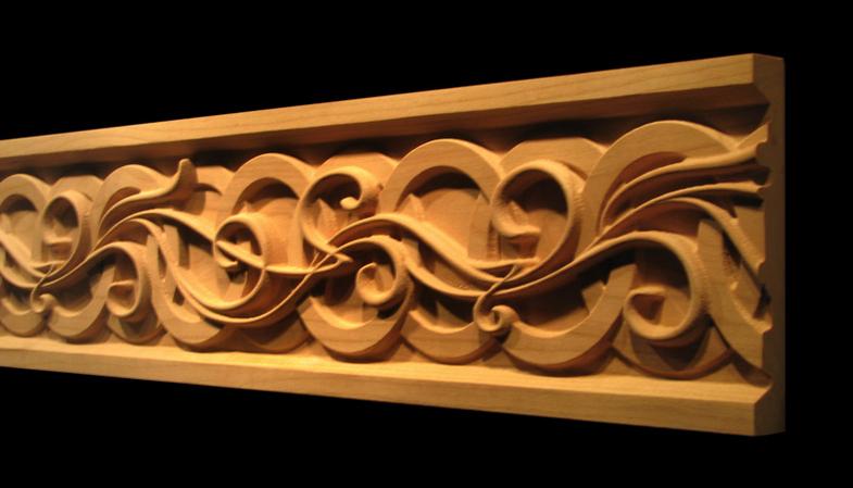 Frieze Moulding - Celtic Nouveau