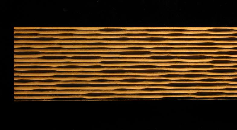 Frieze 3D - RUSTICA- Various Widths, Square Edge