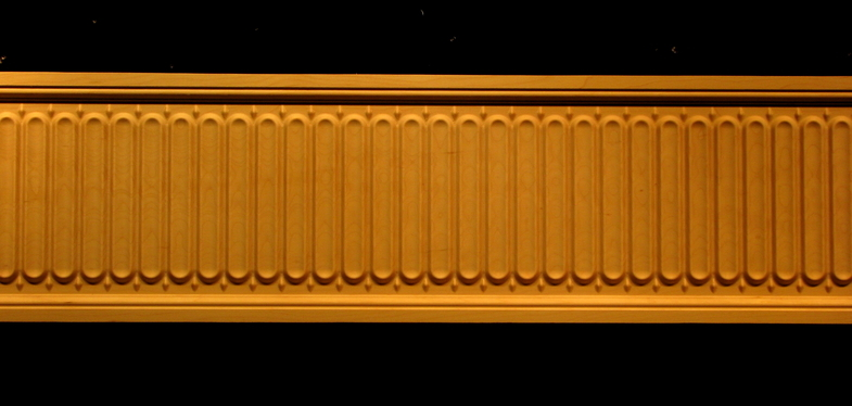 Frieze Guilloche Decorative Carved Wood Molding