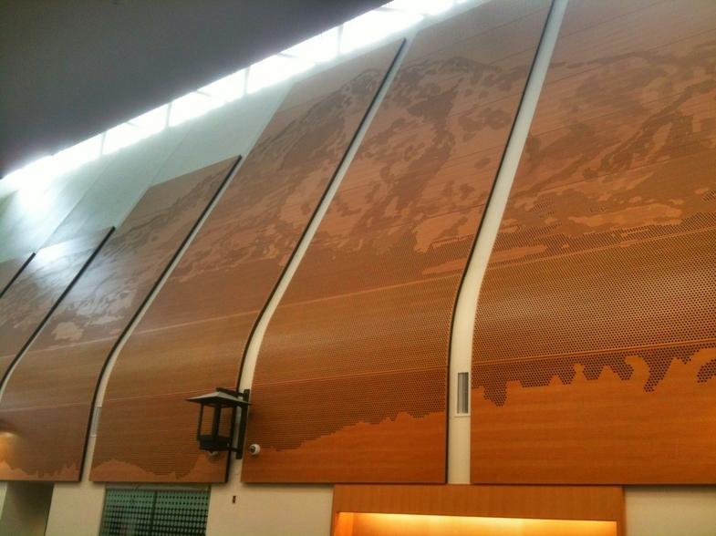 Perforated Art - Sandy High School, Portland