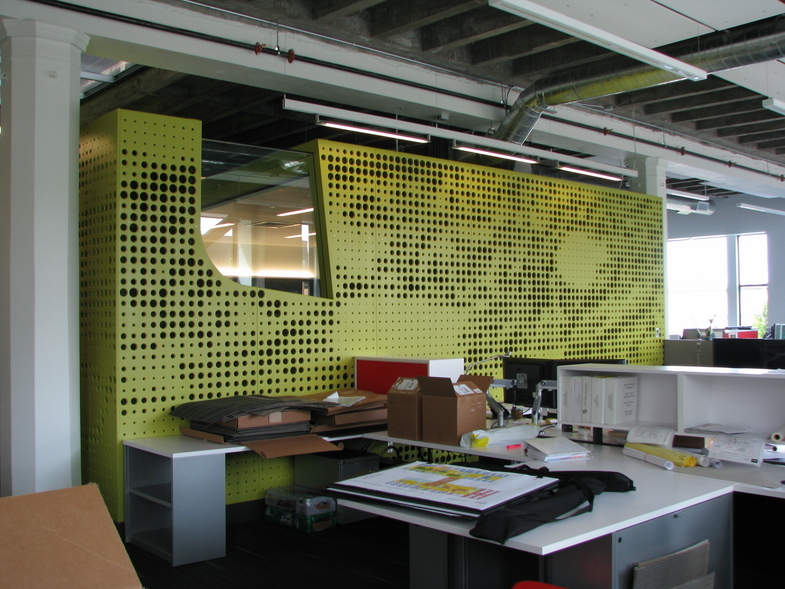 Perforated Art - Pivot Architecture