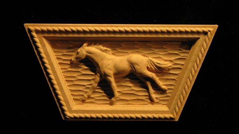 Keystone running horse