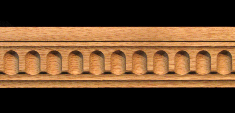 Moulding Fluted Carved Wood