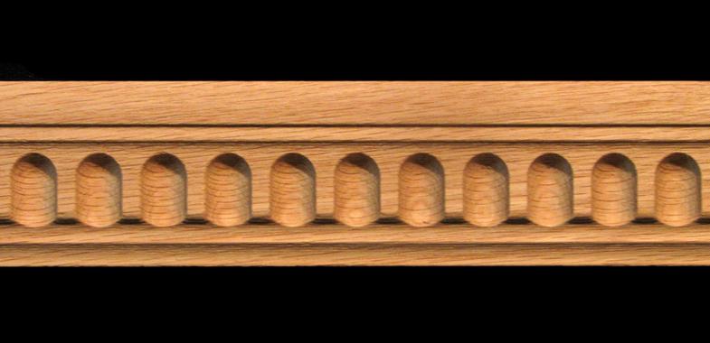 Fluted Trim Boards ~ Moulding fluted carved wood