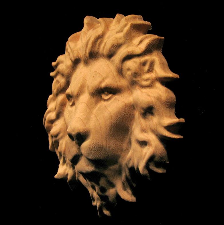 Regal Lion Head Onlay