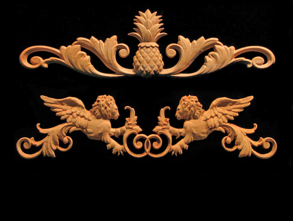 Over 300 Carved Products. Heartwood Carving   Decorative wood accents and details