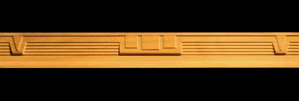 Frieze Deco Pattern Decorative Carved Wood Molding