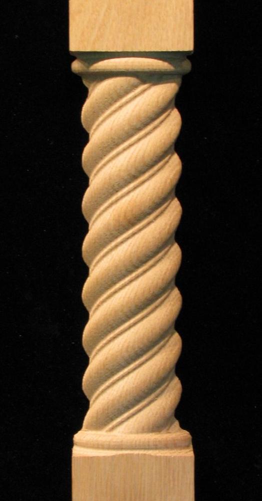 Pilaster - Twist Spiral Rope