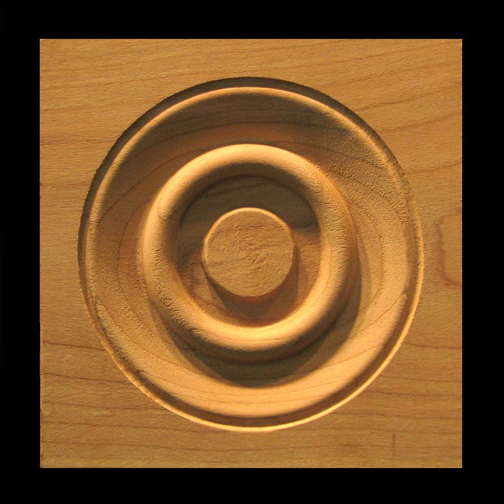 Corner Block - Classic Bullseye style #3 size 3