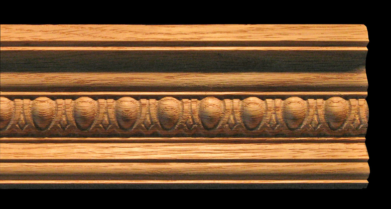 Crown Molding Egg And Dart 2 5 Quot Wood Carved
