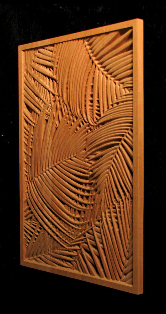 Panel - Palm Fronds