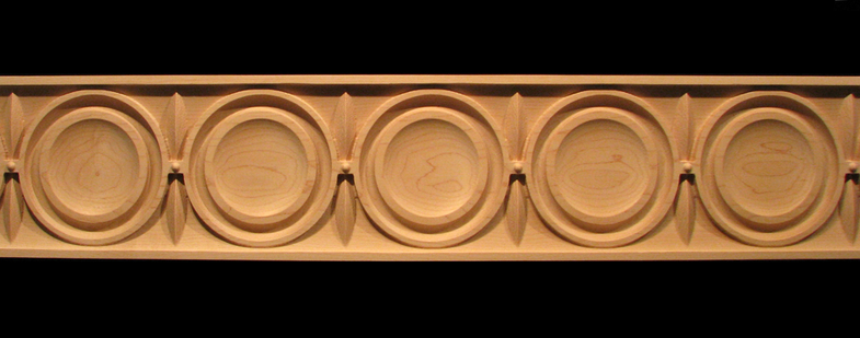 Frieze Moderne Decorative Carved Wood Molding