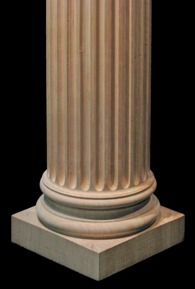 Wooden Column Full or Half Round - Corinthian 6