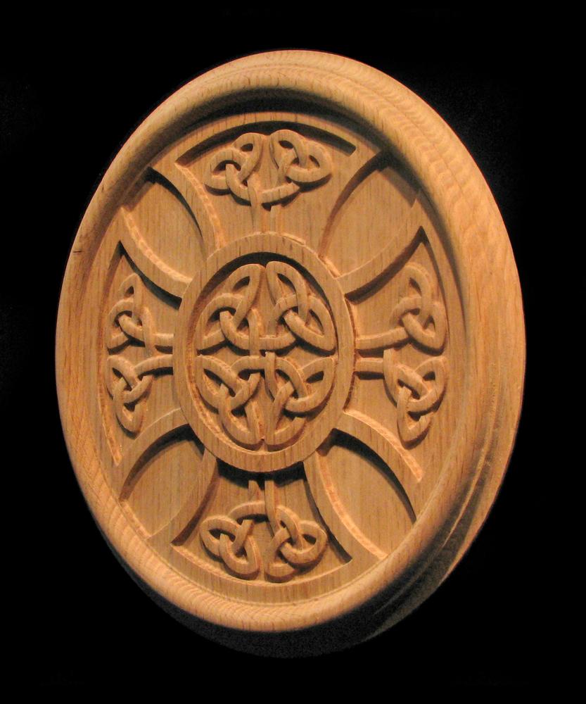 Rosette - Celtic Iron Cross